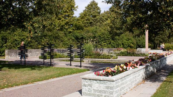 Limhamns kyrkogård i malmö